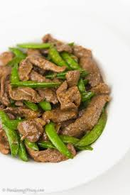 stir fried beef with oyster sauce and