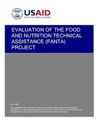 food and nutrition technical istance