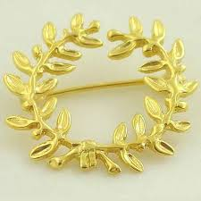ancient gold brooches greek kotinos