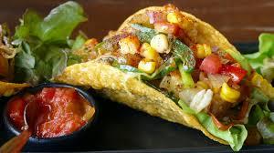 Pinto Bean Tacos with Sautéed Veggies - The Kids Cook Monday