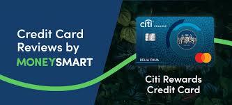citibank rewards card moneysmart