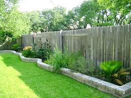 Outdoor Fence Decor Backyard Fence Decor Backyard Fence Decorating Ideas Swinging Outdoor De Backyard Fence Decor Garden Ideas Along Fence Line Backyard Fences