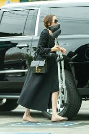 Street Style - Angelina Jolie Out in Los Angeles - JustFabzz