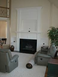 fireplace mantle for flat screen tv