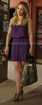 Hilary Duff wearing Parker Cami Dress in Purple, Christian Louboutin  Josepha Sa... - Celebrity Style Guide