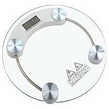 glass bathroom scale pin by