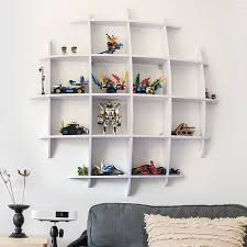 Children S Room Shelf Wall Shelf Room Wall Storage Plaque Creative Partition Circular Display Rack Decoration Rack