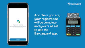 barclaycard app with a pinsentry device