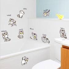 Cat Stickers Bedside Cabinet Refrigerator Bookshelf Wall Decorative Wall Stickers Home Decor Buy At A Low Prices On Joom E Commerce Platform