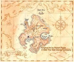 Disney Neverland Map Neverland Map Peter Pan Neverland Peter Pan And Tinkerbell