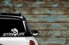 River Life Car Truck Laptop Vinyl Decal Etsy
