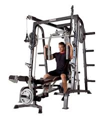 Marcy Smith Cage Workout Machine Total Body Training Home Gym System with  Linear Bearing | RGT Fitness