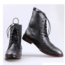 gothic fashion dress boots