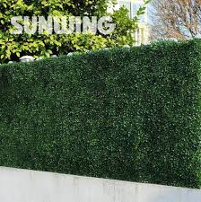 Artificial Boxwood Hedges Panels 6pcs 50 50cm Outdoor Decorative Sgs Uv Proof Fake Ivy Fence Bus Artificial Hedges Artificial Plants Outdoor Artificial Boxwood