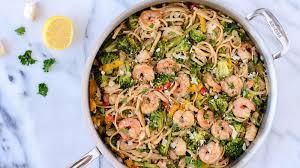 shrimp with garlic white wine and