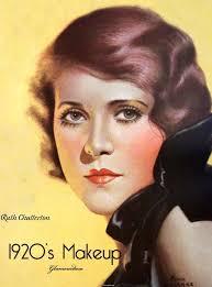 1920s flapper makeup style vine