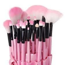 china best makeup brush set pink