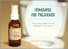 air freshener a natural diy poo spray