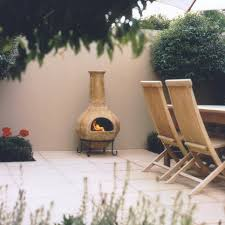 chiminea melbourne clay cast iron