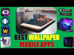 3 wallpaper mobile apps for android