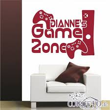 Wall Decal Custom Name Xbox Console Gamer Player Mural