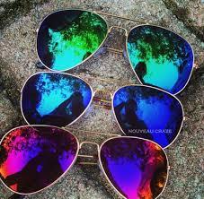 mirror aviator fashion sunglasses