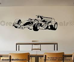 Vinyl Wall Decal Sticker Formula 1 Super Car Kids Race Track Bedroom R1771 Baby B018zgpwlc