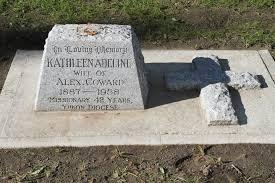 Grave of Kathleen Adeline Coward (Kathleen Adeline Martin Cowaret ...