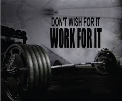 Fitness Motivation Home Gym Wall Decal Don T Wish For It Work For It Wall Decal Gym Fitness Motivation Gym Quote Gym Wall Decal