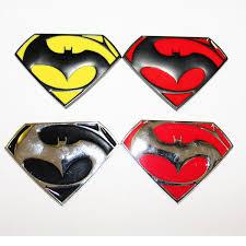 Superman Vs Batman Sign Logo Car Decal Vinyl Sticker For Window Bumper Panel Archives Statelegals Staradvertiser Com