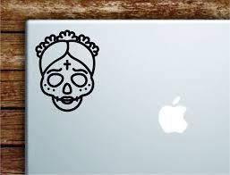 Sugar Skull V3 Laptop Wall Decal Sticker Vinyl Art Quote Macbook Apple Boop Decals
