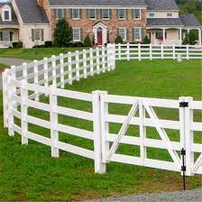 China Framework Fence For Factory Direct Sale With Flexible Horse Rail Fence China Horse Farm Fencing Aluminum Fence