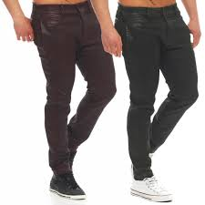 trousers skinny leather look