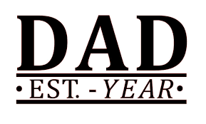 Amazon Com Custom Year Dad Vinyl Decal Father Sticker For Windows Cars Tumblers Pick Your Size Color And Year Handmade
