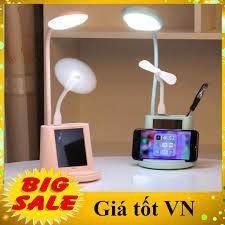 MIỄN SHIP] Đèn Bàn Led Bảo Vệ Mắt Học Sinh Đa Chức Năng Sạc USB hình thú dễ  thương + Đèn Ngủ Cảm Ứng Thông Minh + Quạt USB + gương