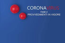 Coronavirus – Ultimi provvedimenti