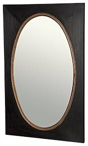 38 tall wall mirror sungkai wood black