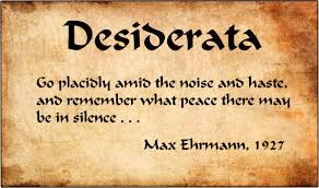 The Meaning Behind the Desiderata Poem | by Michael Shook | Publishous |  Medium