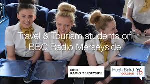 travel tourism students on bbc radio