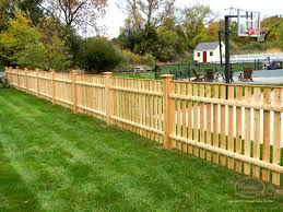 Open Spaced Picket Colonial Fence Co Norfolk Ma Backyard Fences Outdoor Wood Wood Fence Design