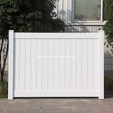 China America Lowes Vinyl Fence Panels 6 X 8 Vinyl Fence Panel Cheap Full Privacy Fence Virgin Pvc Fencing Screwless Design China Vinyl Fence Panels Virgin Pvc Fencing