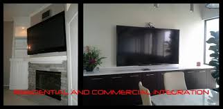 tv wall mounting and installation above