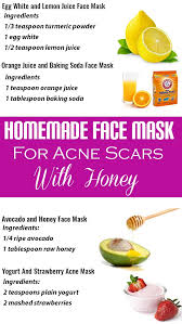 homemade face masks with and without