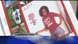 Myra Thompson funeral