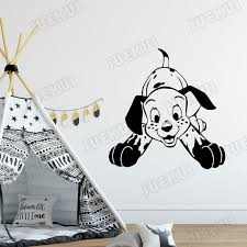 Cute Pet Dalmatian Wall Sticker For Kids Room Vinyl Decals Nursery Babies Bedroom Home Art Decoration Poster Stickers Room Decor Wall Stickers Room Decoration Stickers From Onlinegame 12 21 Dhgate Com