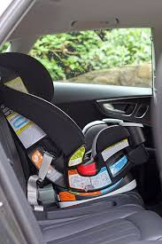 graco front facing car seat installation