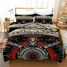 star trek enterprise 3pcs bedding set