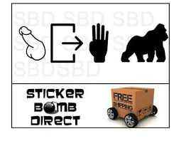 Car Truck Graphics Decals Dicks Out For Harambe Vinyl Decal Sticker Funny Car Truck Jdm Rip Peta Auto Parts And Vehicles Moonnepal Com
