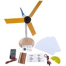 kidwind mini wind turbine with blade