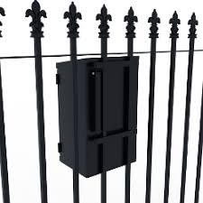 Letterboxes For Railings And Gates Garden Letterboxes Postboxes